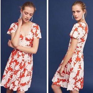 Anthropologie Maeve Summer Breeze Dress